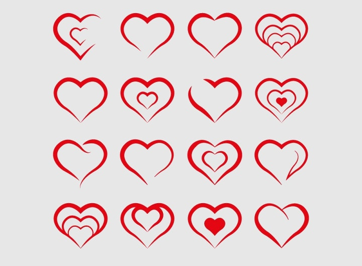 heart-shapes-vector
