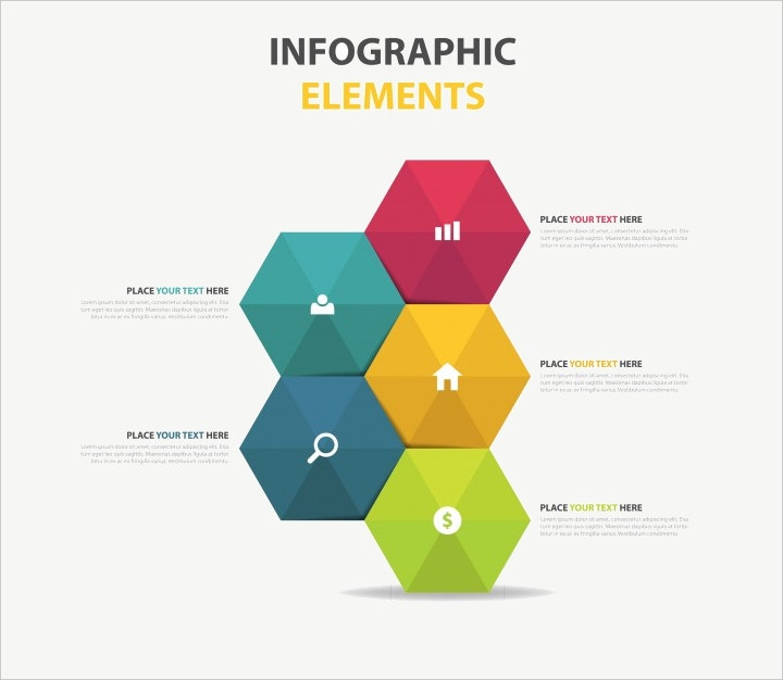 hexagon business template