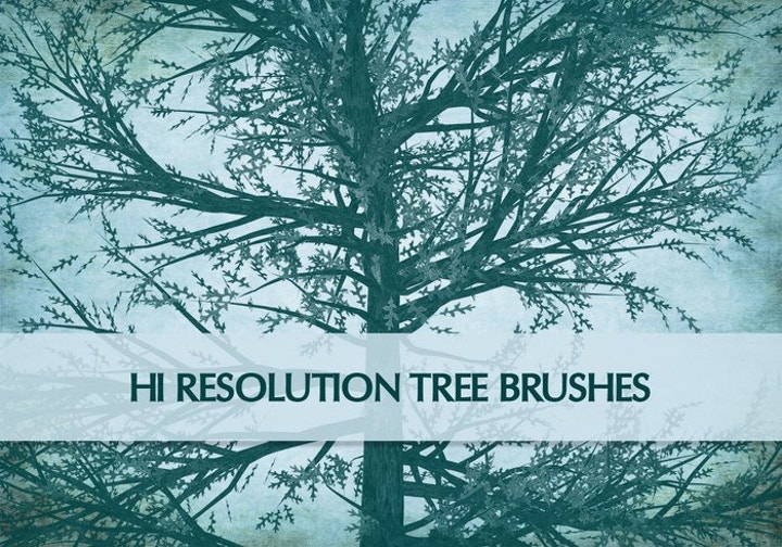 high-resolution-tree-brushes