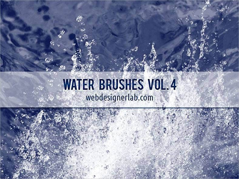 high resolution water brushes 788x591