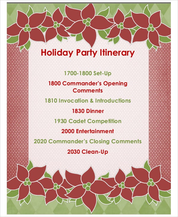 holiday party template1