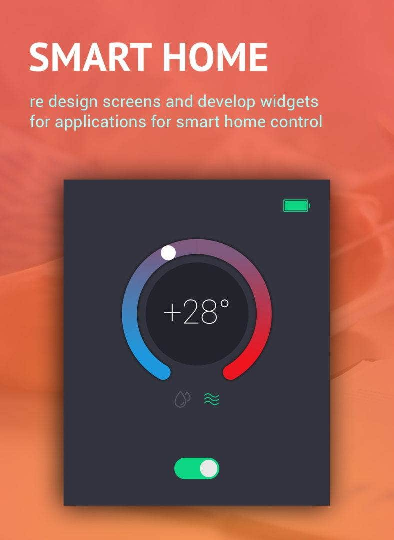 12+ Smart Home App Designs To Control Your House | Free & Premium ...