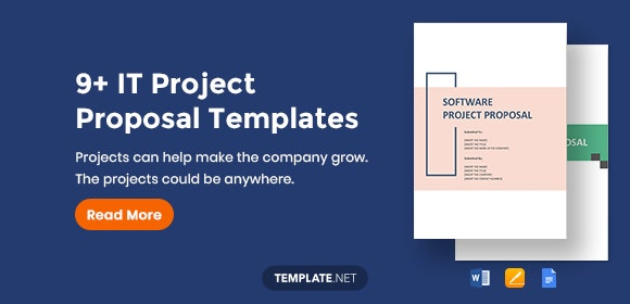 9+ IT Project Proposal Templates - Word, PDF, Apple Pages