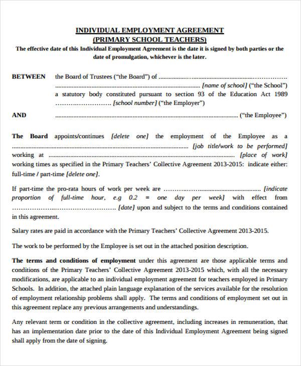 individual agreement1