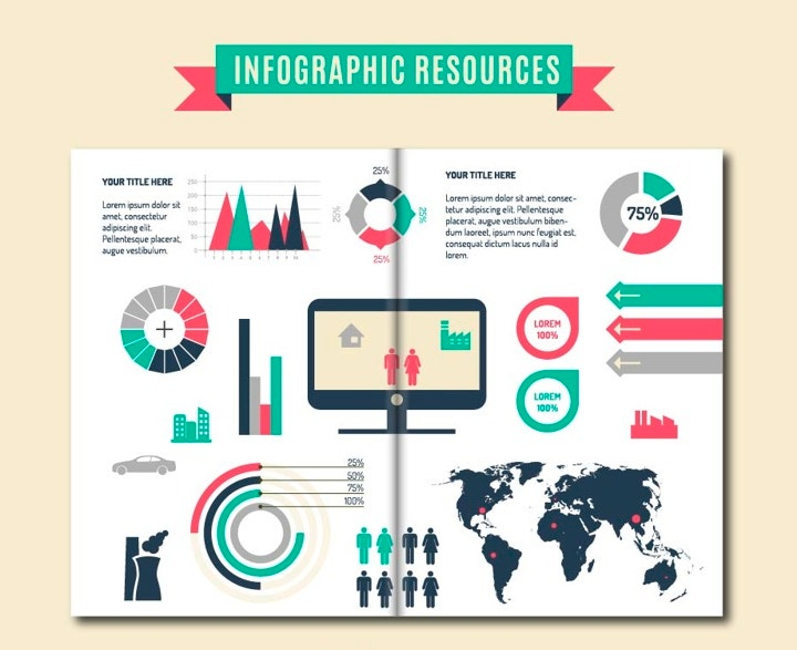 infographic resources brochure