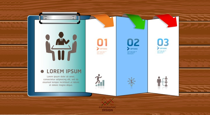 inforgraphic brochure design