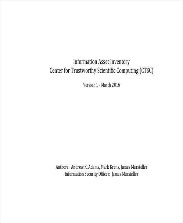 information asset