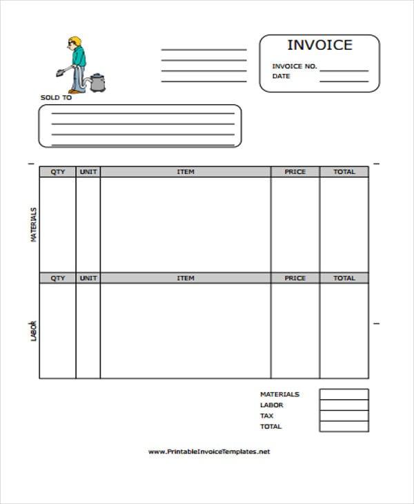 invoice form4
