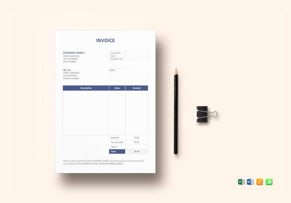 invoice-format-template