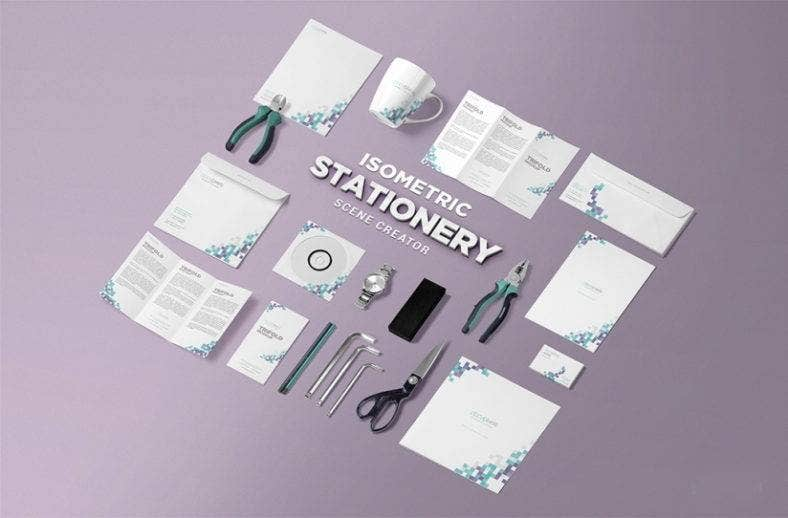 isometric-stationery-mockup