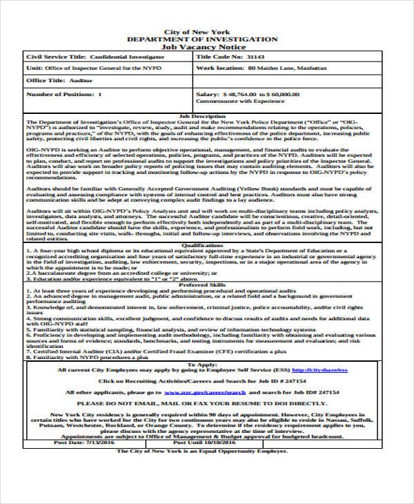 job vacancy2
