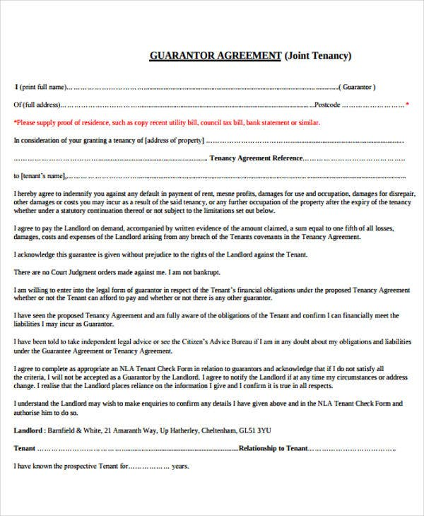 41 basic agreement templates free premium templates for Co promotion agreement template