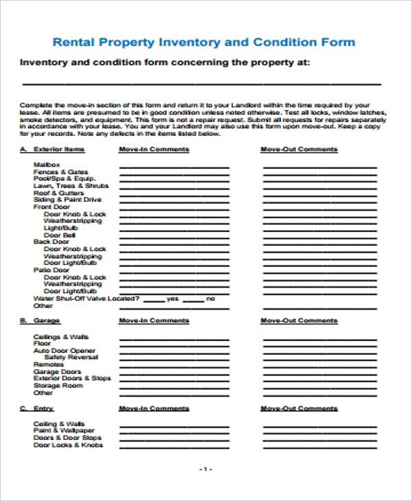 Landlord Rental Inventory Amfam Details File Format