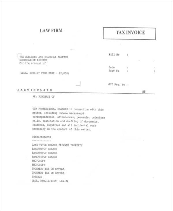 legal tax