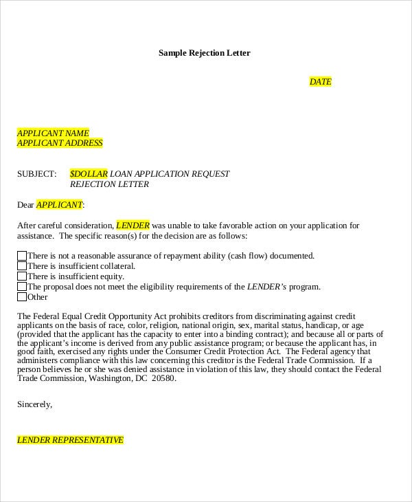 loan applicant