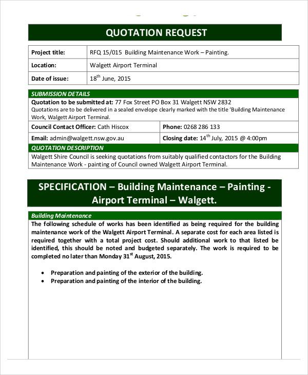 maintenance company