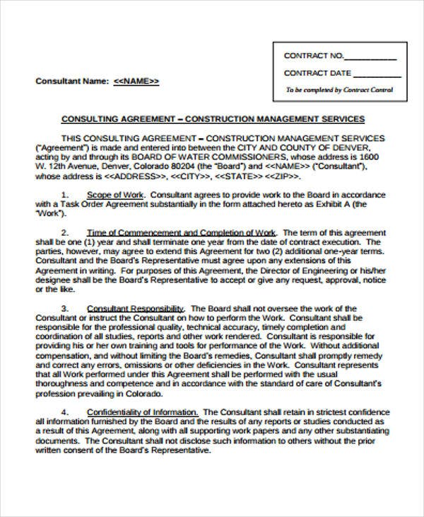 9+ Management Agreement Templates - Free Sample, Example Format