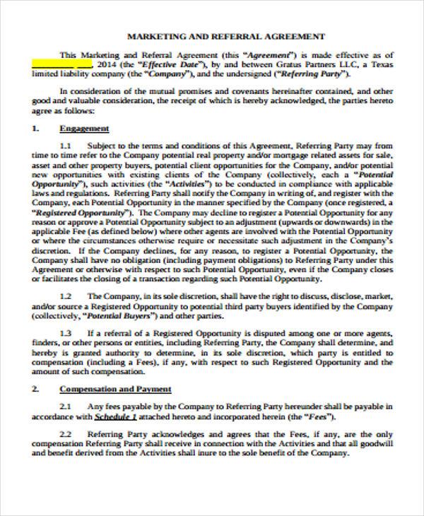 Referral Agreement Akbaeenw