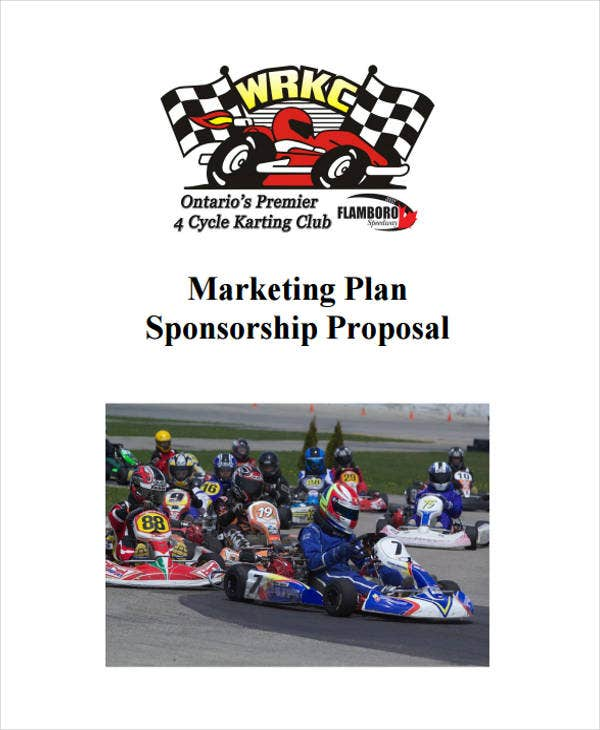 sponsorship marketing plan template - 44 proposal templates free premium templates
