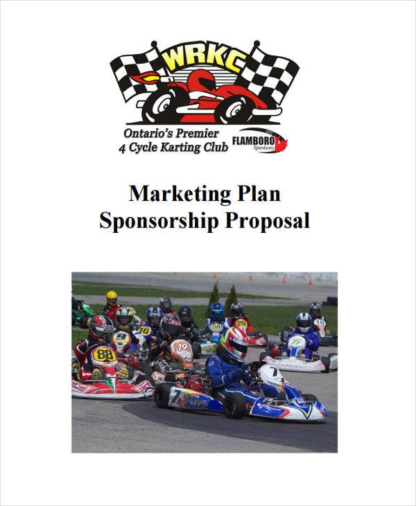 Event Sponsorship Proposal Templates 5 Free Word PDF Format – Race Car Sponsorship Proposal Template