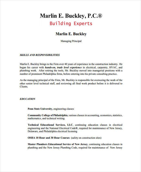 plumber resume sample resume cv cover letter - Plumber Resume Sample