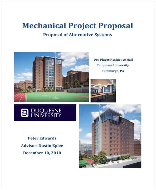 Mechanical Project Proposal