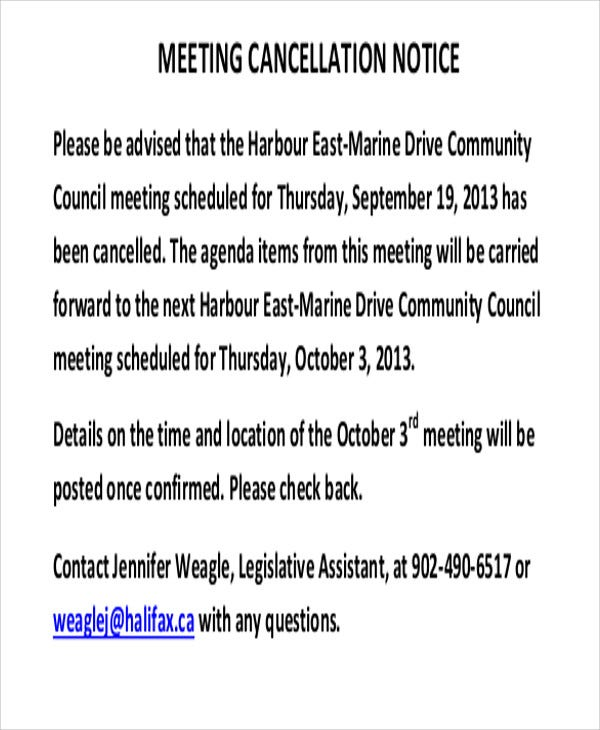 meeting cancellation1