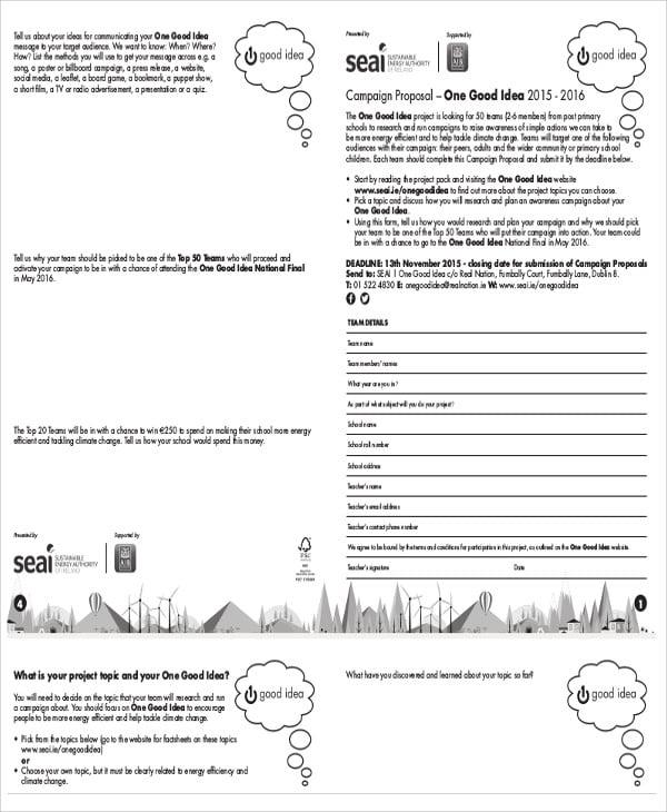 membership proposal
