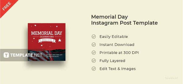 memorial-day-instagram-post-template