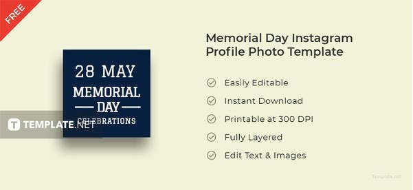 memorial-day-instagram-profile-photo-template