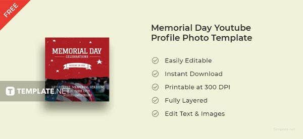 memorial-day-youtube-profile-photo-template
