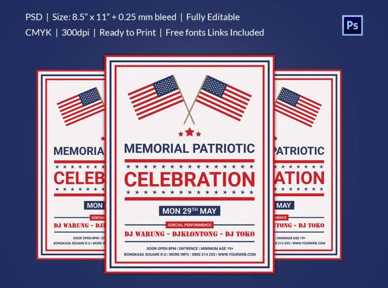 memorial_patriotic_flyer