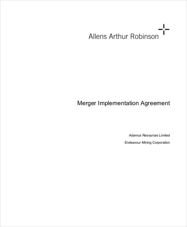 merger implementation