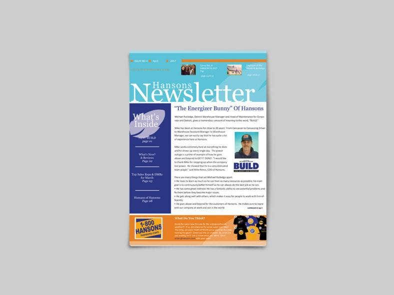 monthly newsletter 788x591