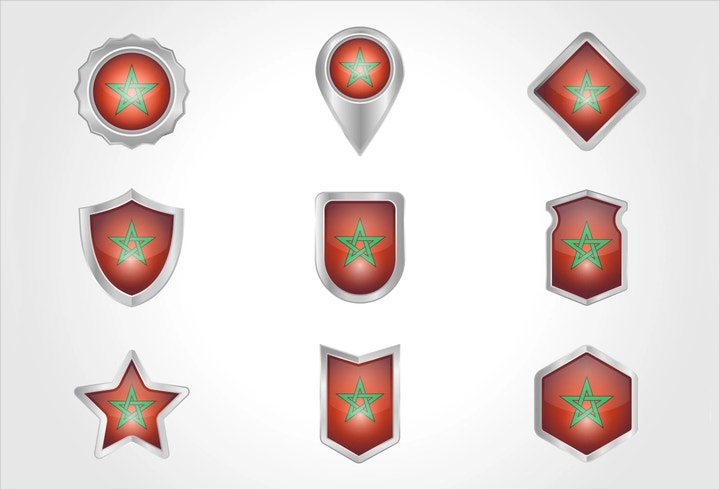 morocco-badge-vector