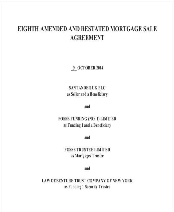 6+ Mortgage Contract Templates - Free Sample, Example Format
