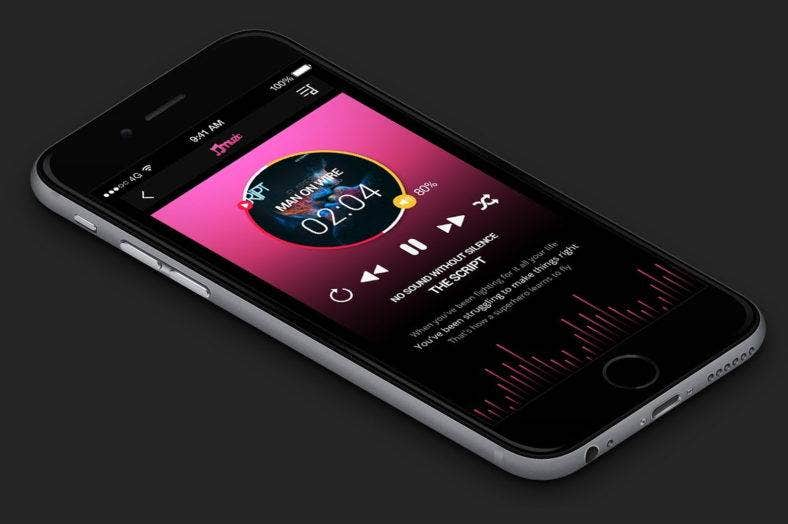 music-app-ui-design