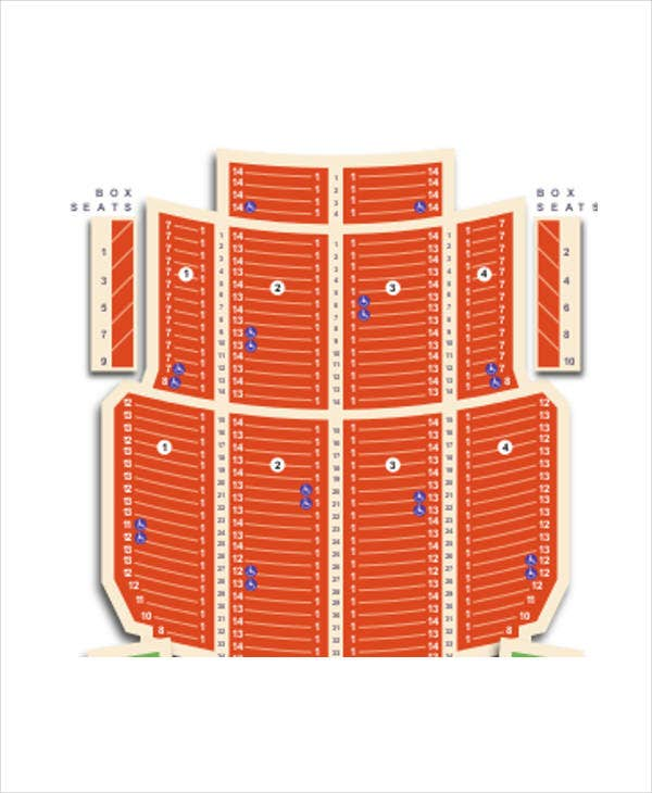 music seating chart1