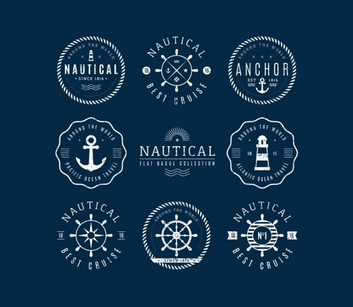 nautical-badge