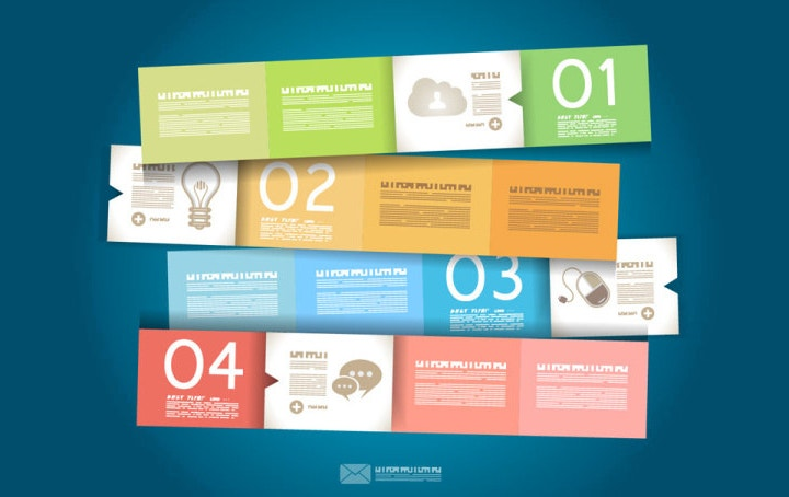 Free Vector Infographic Design Elements