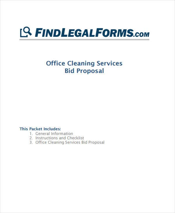 4+ Cleaning Business Proposal Templates - Free Samples, Examples ...