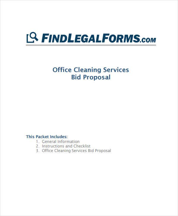 Cleaning Services Proposal Template Militaryalicious