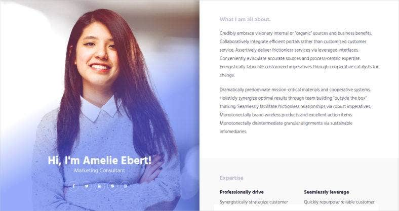 DemoDownload This Is Another Responsive Bootstrap Resume