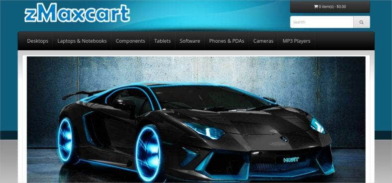 opencart-car-theme