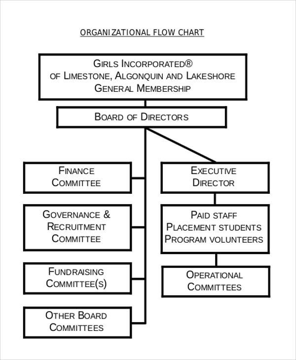 organizational chart template1