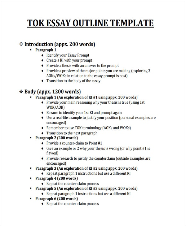how to write a tok essay co how