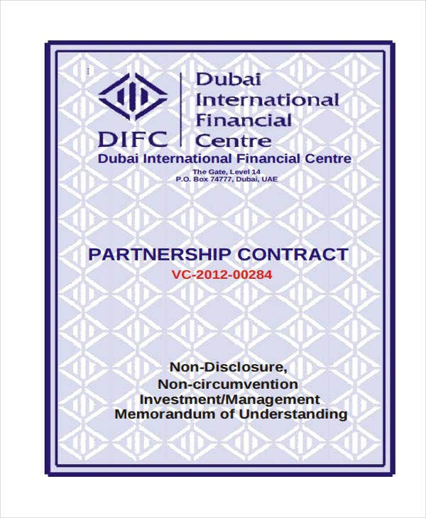 partnership contract2