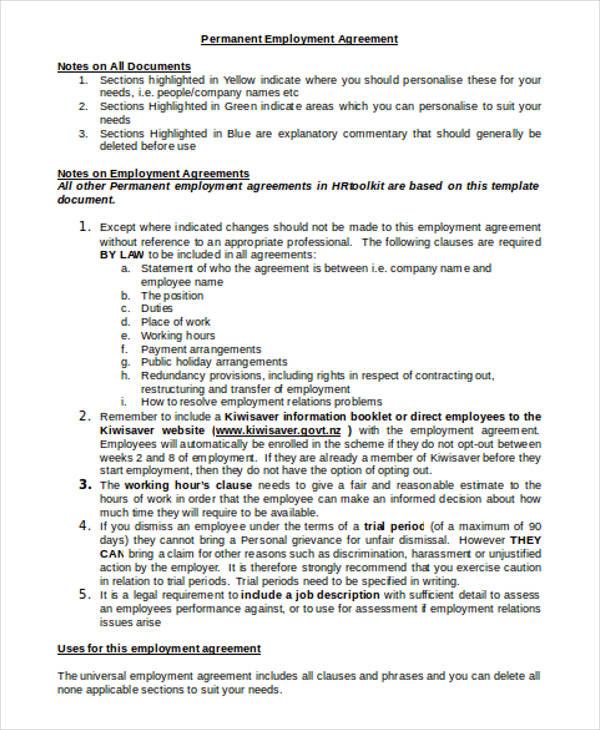 permanent employment1