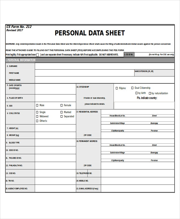personal data2