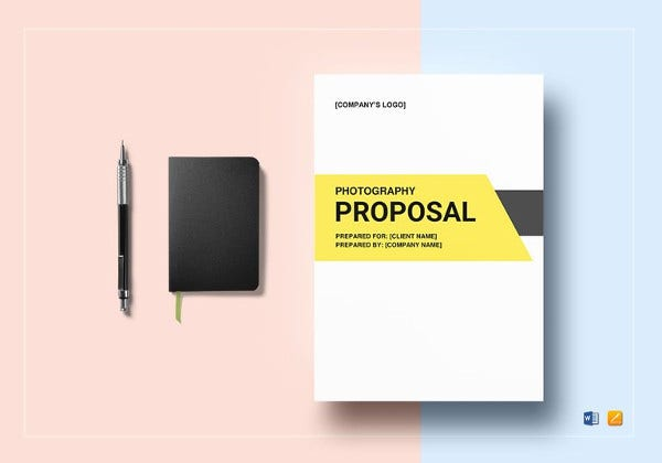 photography proposal template in ipages